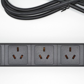 19″1U 10A 7 Power Distribution Units Australian PDU Network Cabinet Rack Sockets Standard Outlet Switch Strip Power Supply AS NZ
