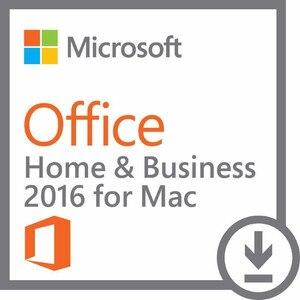 Image 4 - Microsoft Office בית ועסקים 2016 עבור Mac רישיון מוצר מפתח קוד הקמעונאי התאגרף