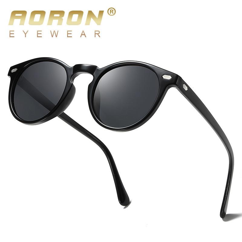 TR90 Aviator Sonnenbrille für Herren in Braun