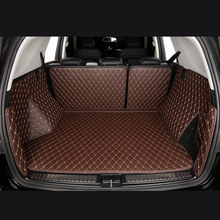 Car Trunk Mats for SKODA RAPID Spaceback NH1 ROOMSTER Praktik 5J SUPERB II III 3T4 Kombi 3T5 3V3 3V5 castom Cargo Liner(China)