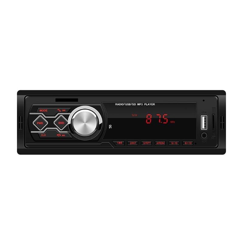 1788E 12V Universal Car Stereo MP3 Music Player FM Radio AUX TF Card U Disk USB2.0
