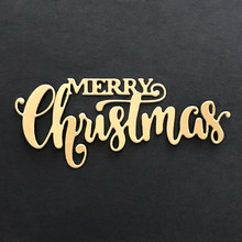 MERRY Christmas Dies Cut Word Metal Cutting Dies New 2019 Christmas Stamps and Dies for Card Making Craft Dies Scrapbooking(China)