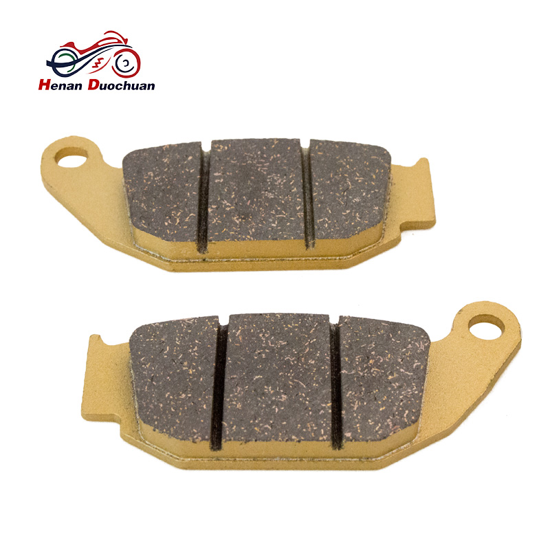Motorcycle Rear Brake Pads For BMW F 800 R 850 R 1100 /R/S R 1150 HP2 R/K 1200 K 1300 Brake Disk 93-13 2pieces