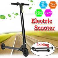 24V 5 250W Adult Folding Electric Scooter Bicycle Two Wheel Long Boards Smart Skateboard E Scooter Portable Hoverboards Scooter