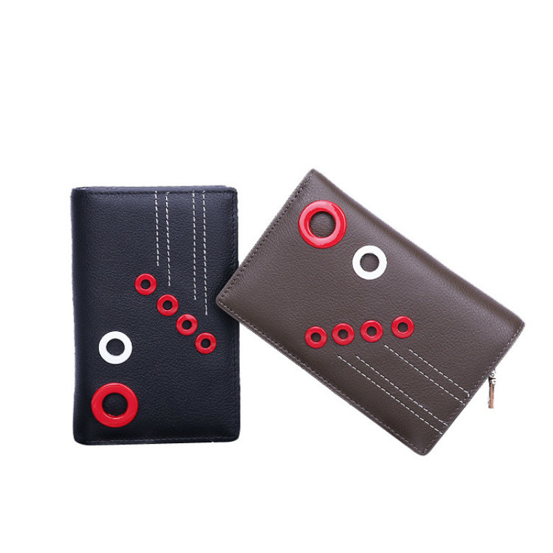 Leisure Style Genuine Leather Long Wallets Women Wallets Coin Purses Money Pocket Card Holders Clutch Bag Carteira Feminina