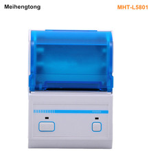 Meihengtong MHT-L5801 Thermal Printer 58mm Pos Receipt Printer Portable Bluetooth Barcode Printer Wih Multi-Language Printing