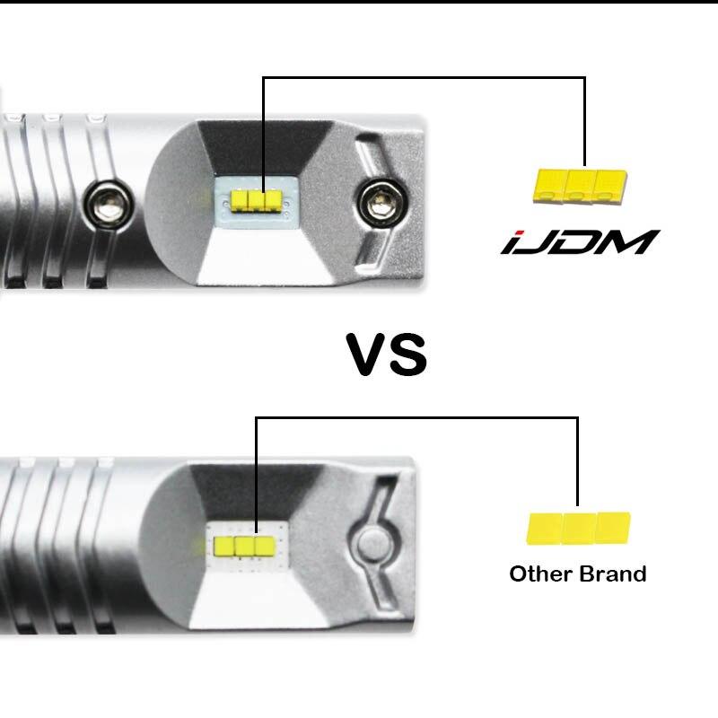 iJDM White 6000K Canbus No Error 1156 P21W LED Bulb for Skoda Superb Octavia 2 FL 2011 2012 2013 Daytime Running Lights DRL 12V