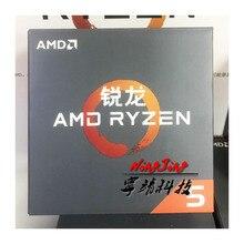 AMD Ryzen 5 1600X R5 1600x3.6 GHz ستة النواة اثني عشر موضوع جديد معالج وحدة المعالجة المركزية YD160XBCM6IAE المقبس AM4