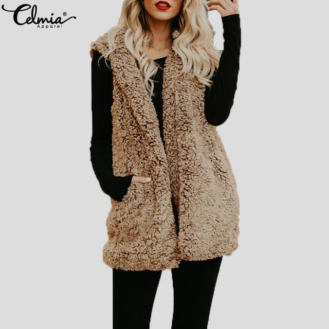 Chaleco abrigo mujer