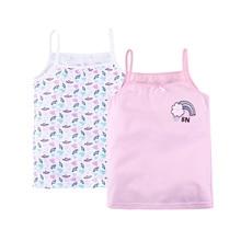Набор маек 2 шт. для девочки 'Hello' BOSSA NOVA 237Н-167 розовый/розовые сердечки