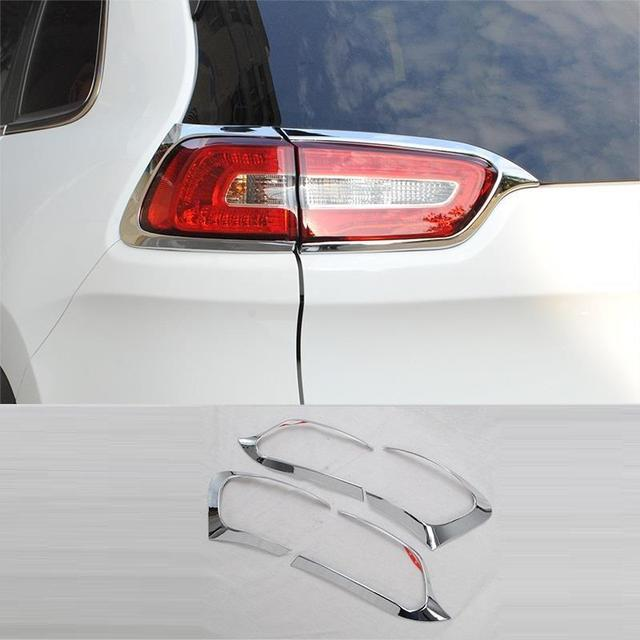 Automobile Front Bumper Grille Door Handle Exterior High-Grade Mouldings Car Styling Covers Accessory 16 17 FOR JEEP Cherokee