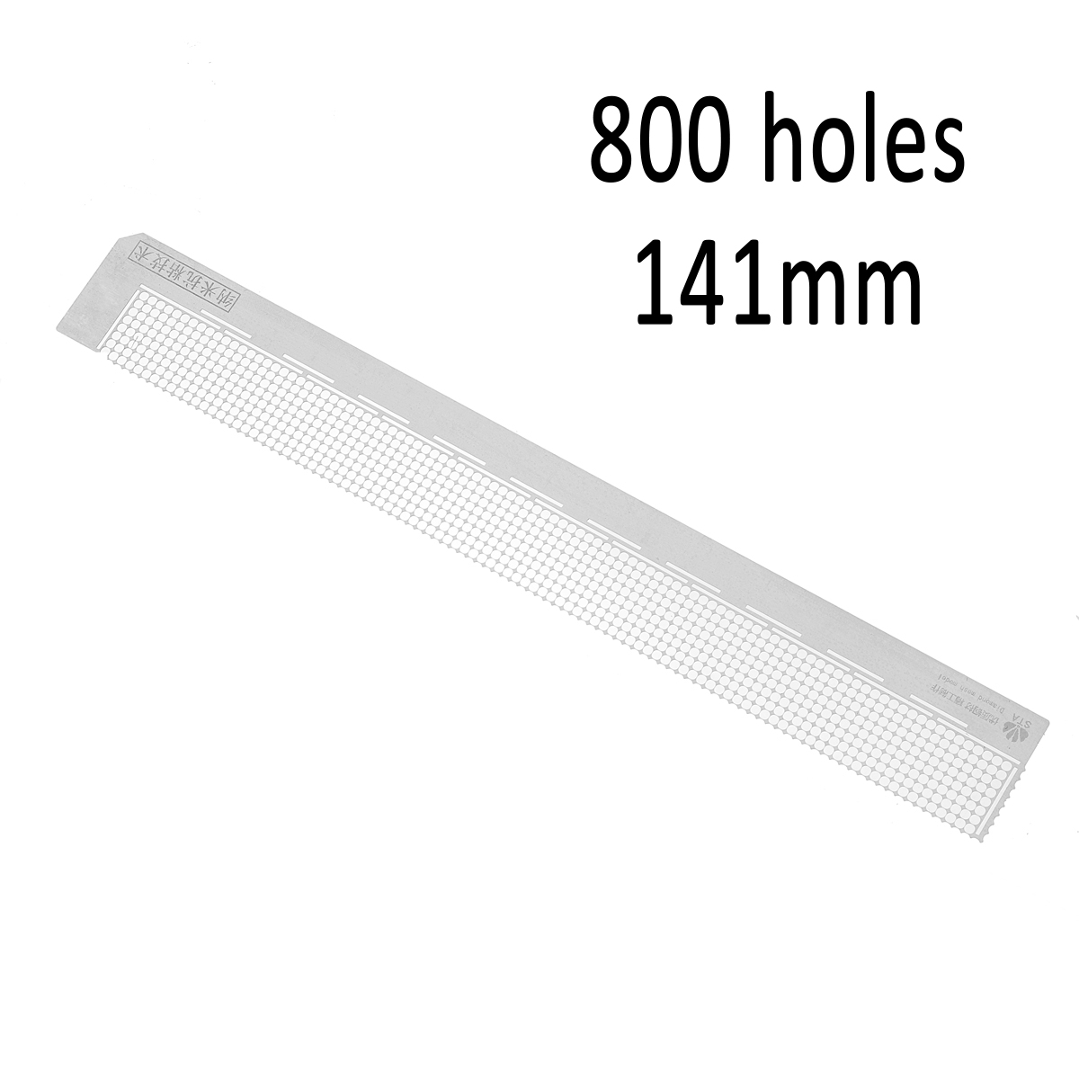 Nano Point Drill Ruler Cross Stitch Diamond Embroidery Paste Sticker Dotting Rhinestone Point Anti-Stick Drilling Ruler Tools Accessories Peyan 5D DIY Diamond Painting Ruler Tools