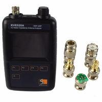 Новый VHF/UHF цвет графический векторное сопротивление телевизионные антенны анализатор KVE520A с 5 инструменты для наращивания волос Любителя Ham