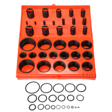 New Arrival 419Pcs/set Universal O-Ring Assortment Set Metric Kit Car Seal Rubber Gasket Car Repair Tools Set 32 metric sizes car rubber o ring seals assortment set kit universal garage plumbing standard o ring for car auto high quality