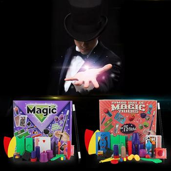 Chidlren Magic Tricks Toys Hanky Panky's Junior Magic Set Simple Magic Props For Magic Beginner Children With DVD Teaching Kit