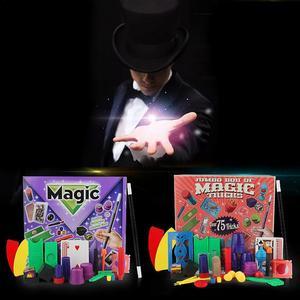 Image 2 - Chidlren Magic Tricks Toys Hanky Pankys Junior Magic Set Simple Magic Props For Magic Beginner Children With DVD Teaching Kit