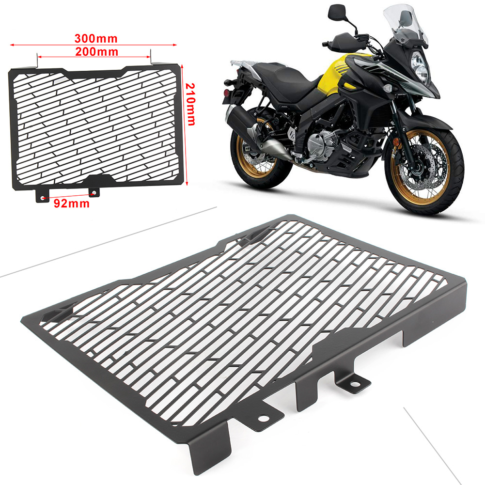 Motorcycle Steel Radiator Grill Grille Cover Proector Guard For SUZUKI Vstrom V STROM 650XT 2017 2018