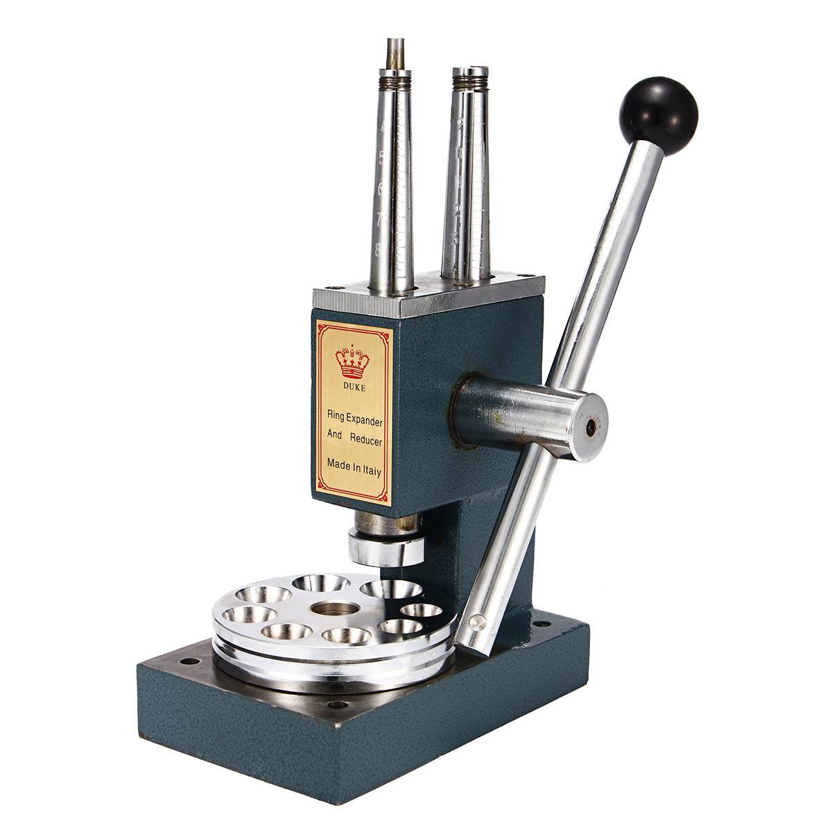 Ювелирное кольцо Носилки Редуктор Увеличитель размер машины расширитель гаечный ключ инструменты с двумя полюсами ювелирное оборудование