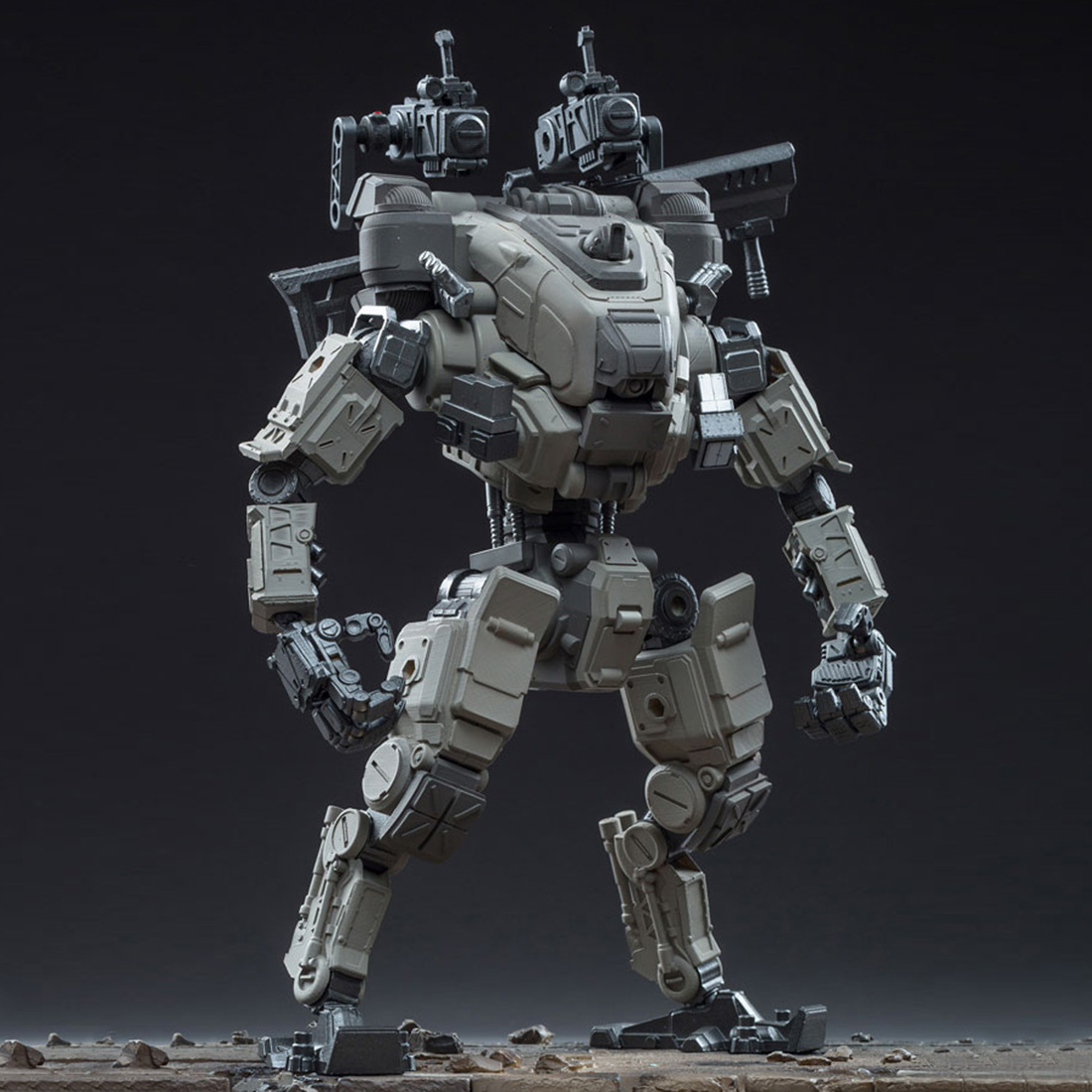 22cm DIY Removable Mecha Model Soldier Model Construction Action Figures Toy Accessory - Fifth Generation Strikes Mecha