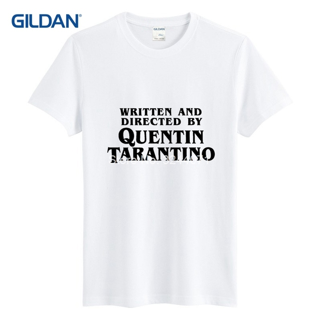 Written And Directed By Quentin Tarantino Best T Shirts For Men 2019