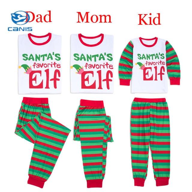 1e0be8c6f Pudcoco 2019 New Christmas Family Matching Pajamas Set Adult Kids ...