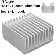 Cooling Accessories Aluminum Heat Sink 40 x 40 x 20mm IC Hea