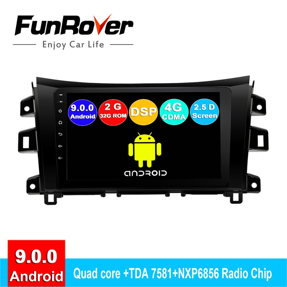 FUNROVER android 9.0 2din car dvd gps player For Nissan Navara Frontier NP300 2011-2017 radio navigation navi stereo 2.5D DSP 9FUNROVER android 9.0 2din car dvd gps player For Nissan Navara Frontier NP300 2011-2017 radio navigation navi stereo 2.5D DSP 9