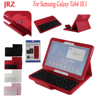 10.1 inch Tablet Case For Samsung Galaxy Tab4 Tab 4 T530 T531 T533 T535 Detachable WiFi Bluetooth Keyboard Leather Cover