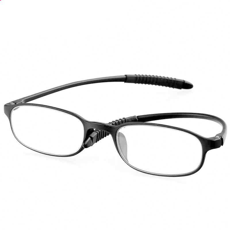TR90 Ultralight Unbreakable Best Reading Glasses Tool Pressure Reduce Magnifying Light Anti-fatigue Clear Toiletry Kits