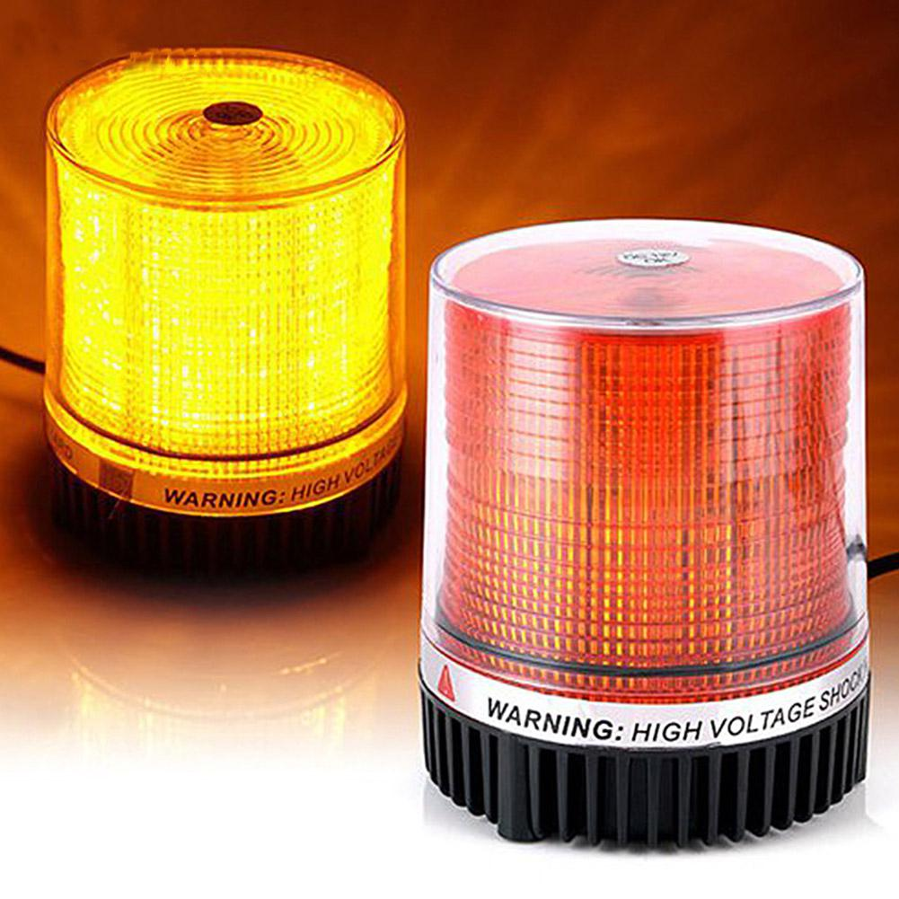 AKDSteel Mounted Vehicle 12 24V LED Police Warning Light Strobe Flashing Lighting Car Led Emergency Lights Beacon Lamp Bulbs
