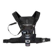 Nicama камера переноски нагрудный ремень системы жилет быстрый ремень для DSLR Canon Nikon Pentax Olympus, sony беззеркальных камера