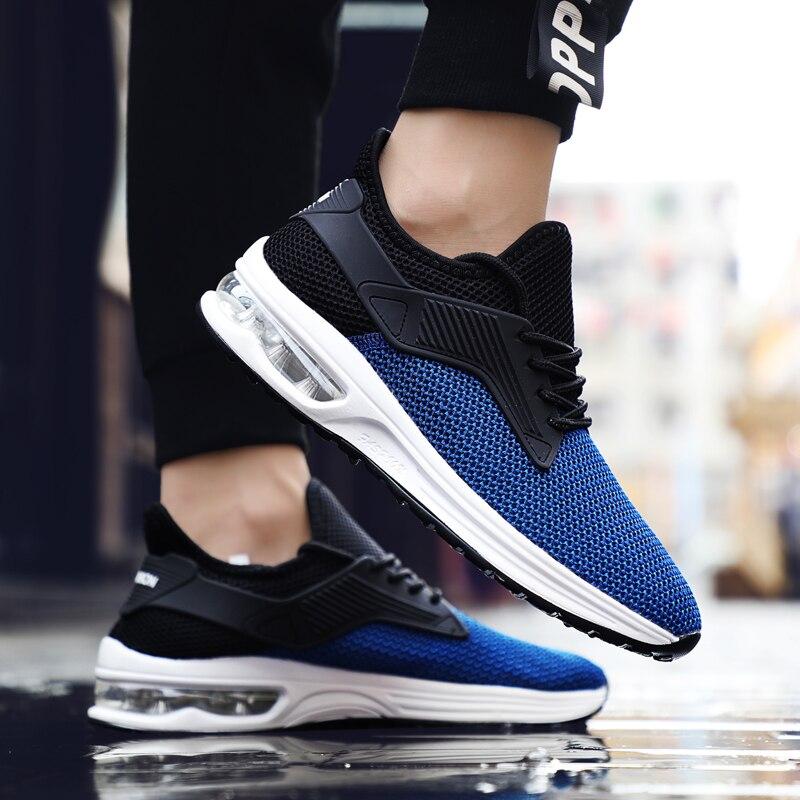 Yeeloca chaussures de sport pour hommes chaussures décontractées respirantes chaussures tissées hommes baskets de marche en plein air pour hommes chaussures plates