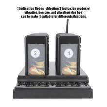 Calling System Wireless Paging Queue System 20 Channels Restaurant Pager Waiter for Restaurant Coffee Shop Queuing System
