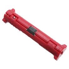 Инструмент для зачистки электрических проводов, Красный коаксиальный инструмент для зачистки проводов, лезвие для зачистки коннектора BNC F,...