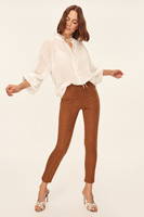 Trendyol Camel Cigarette Pants Pants Classic TOFAW19ST0046