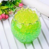 50000pcs/bags Crystal Soil Hydrogel Gel Polymer Water Beads Magic Ball To Flower/Wedding Decoration Maison Growing Water Balls