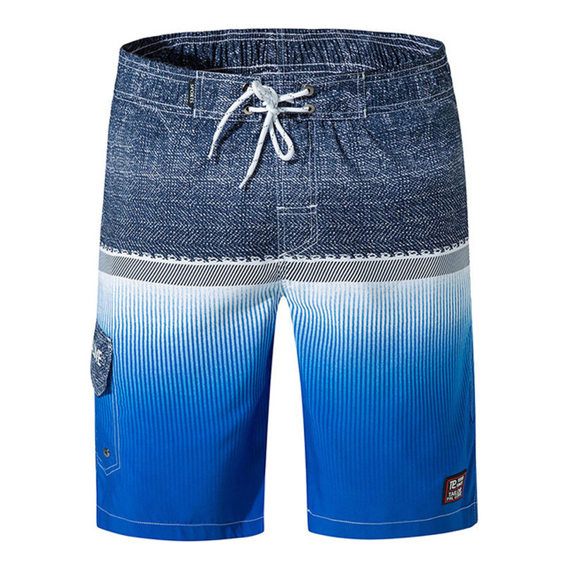 Men's Swimming   Board     Shorts   Swimsuit Trunks Print   Shorts   Summer Breathable Elastic Waist Surf Swim   Shorts   Running Pants Swimwear