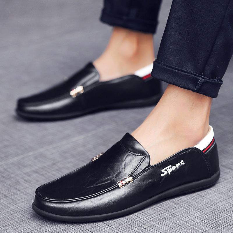 Conduite Véritable Chaussures Brown yellow Black Mocassins Doug En Cuir Hommes Homme Automne Brown red Appartements De Slip Qualité Haute Printemps on Casual grqg6