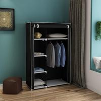 When the quarter wardrobe DIY Non woven fold Closet Portable Storage Cabinet Multifunction Clothes Closet Wardrobe Organizer