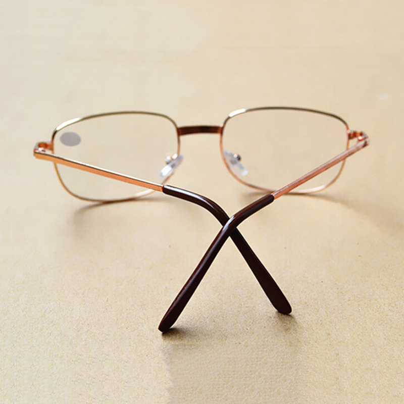 Zilead Metal Frame Reading Glasses Relieve Visual Fatigue Presbyopic Glasses TR90 Materia Ultralight Simple Parents Eyeglasses in Women 39 s Reading Glasses from Apparel Accessories