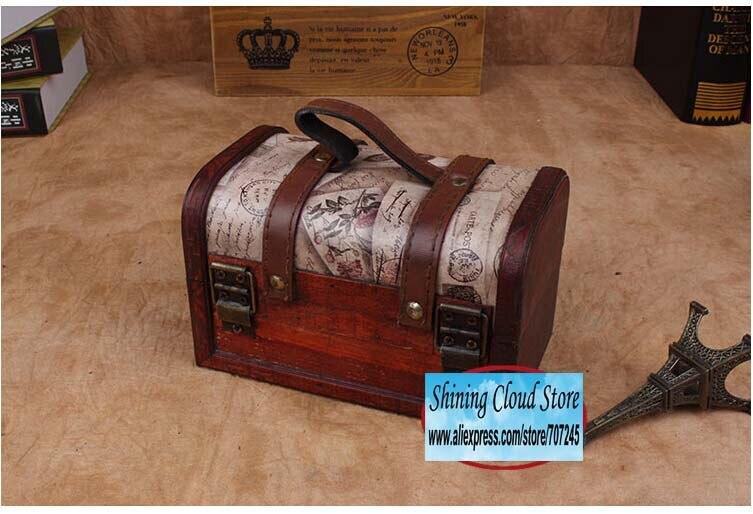 madeira conjunto caixa de presente caixa de lápis