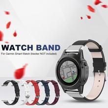 Bracelet universel en cuir à dégagement rapide de 22 MM de large pour Garmin Fenix 5 pour Garmin Forerunner 935 pour Garmin Quatix 5 pour Garmin