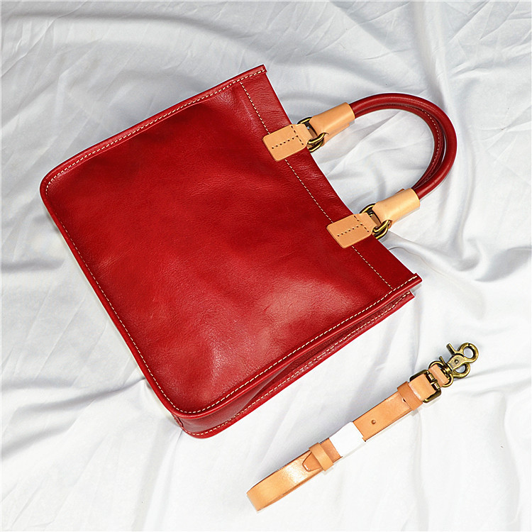 2019 new top layer leather messenger bag female leather vegetable tanned leather handbag Handmade Small Tote shoulder bag2019 new top layer leather messenger bag female leather vegetable tanned leather handbag Handmade Small Tote shoulder bag
