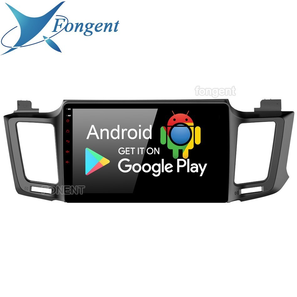 Android 9.0 For Toyota Rav4 2013 2014 2015 2016 2017 2018 Car Radio 2 Din Gps Navi System Multimedia Player Px6 Dsp Ips 64gb Rds