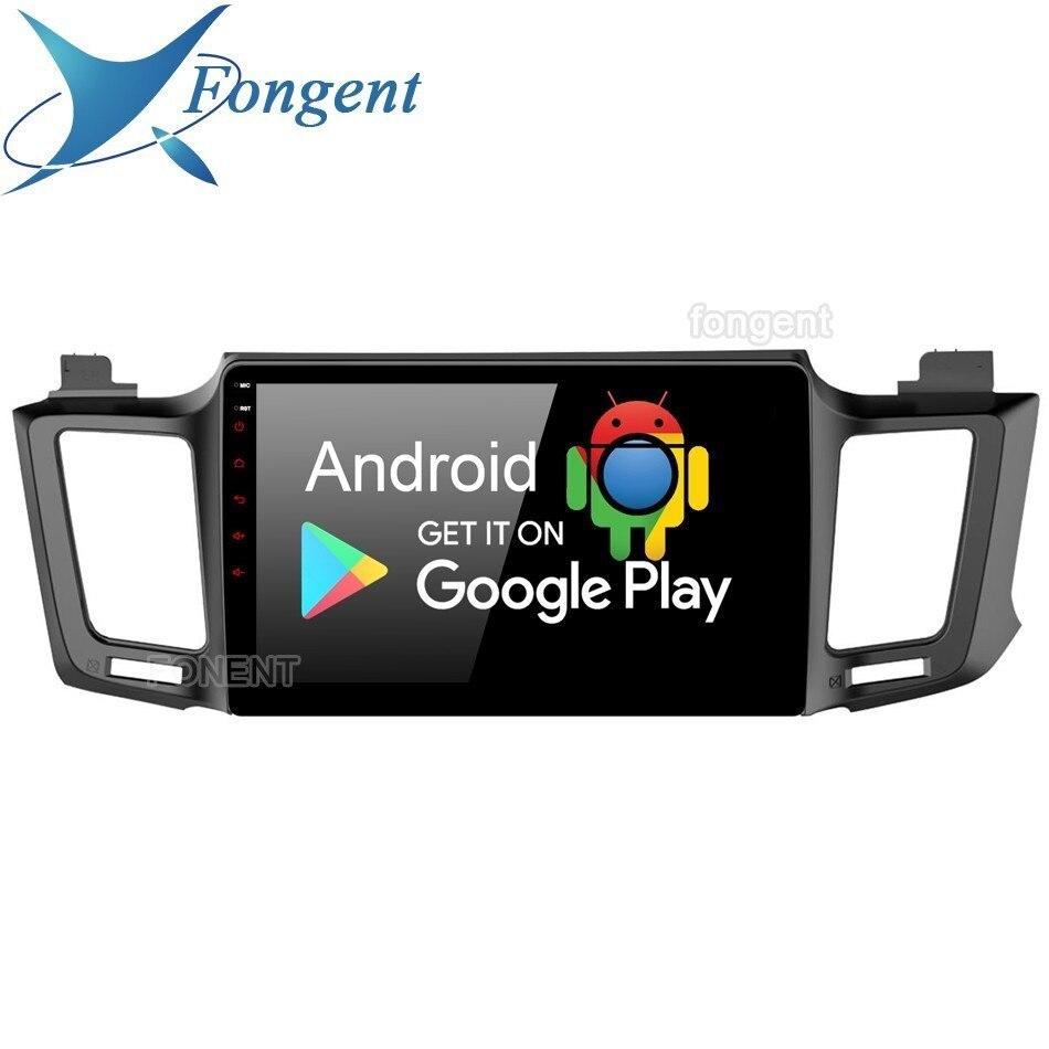Android 9.0 Para Toyota 2 Rav4 2013 2014 2015 2016 2017 2018 Rádio Do Carro Din Gps Sistema Navi Multimedia Player px6 Dsp Ips 64 gb Rds