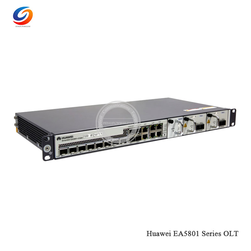 Fiber Optic Equipments 2019 New Hua Wei Ea5801-gp08 10g Gpon Olt Xg-pon Hua Wei Ea5801 Compact And Low-density Box-shaped Olt To Ensure A Like-New Appearance Indefinably Communication Equipments