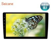 Seicane 2DIN универсальный автомобильный Радио Android 7,1/8,1 9 дюймов gps навигации головное устройство плеер 4 ядра Поддержка резервного копирования к
