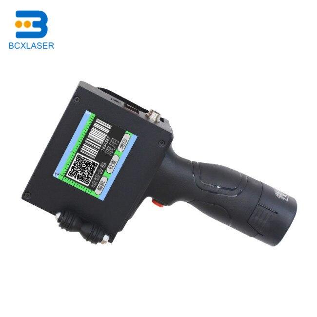 Multifunctional smart portable handheld inkjet printer for bar code, label, date, time printing