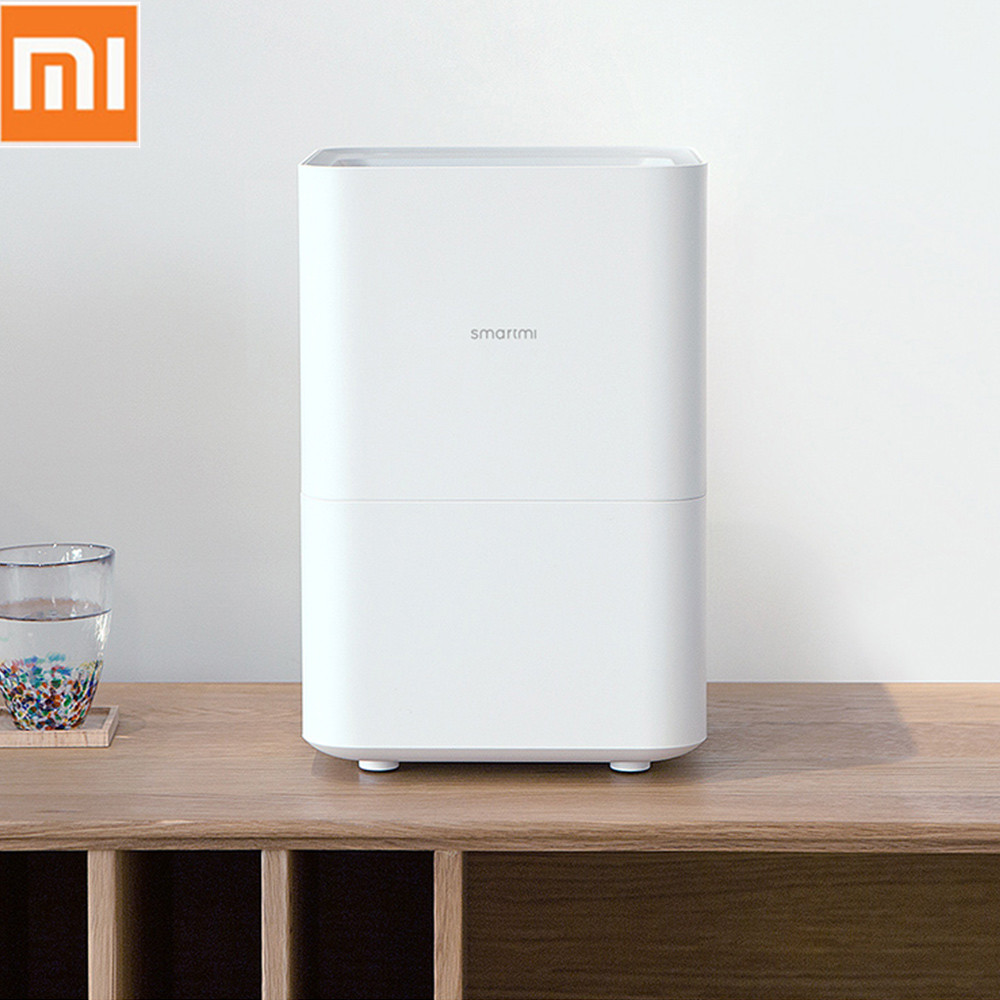 Original Xiaomi Smartmi Pure Evaporative Air Humidifier with 4L Capacity Tank Automatic Water Evaporation Mist Maker Home Office