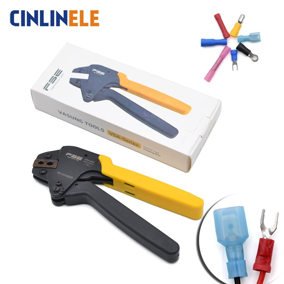 0.25-2.5mm 23-13AWG High Quality Precision Wire Connector Crimp Pliers Insulation Terminal Tool  VSA-02C SN-02C0.25-2.5mm 23-13AWG High Quality Precision Wire Connector Crimp Pliers Insulation Terminal Tool  VSA-02C SN-02C